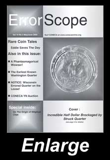 The Cover of CONECA's Errorscope, May/June, 2005 Issue